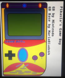 Pikasia's Game Boy by MarioBlade64