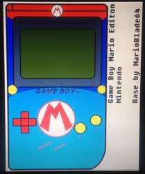 GAME BOY Mario Edition by MarioBlade64