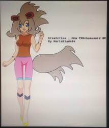Growletina - the growlithe Pokehumanoid by MarioBlade64