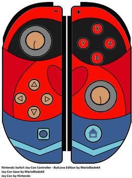 NS Joy-Con Controller - ButLova Edition