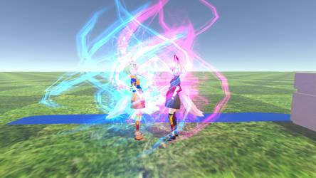 VRChat: SSB Gokukon VS Gokukon Black by MarioBlade64
