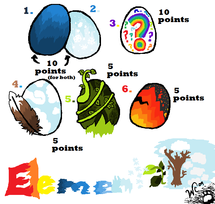 Warriors Fire And Ice Ar Points: Hatchables By WarriorCats09 On DeviantArt