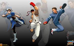 Capcom Team - Wallpaper by iFab