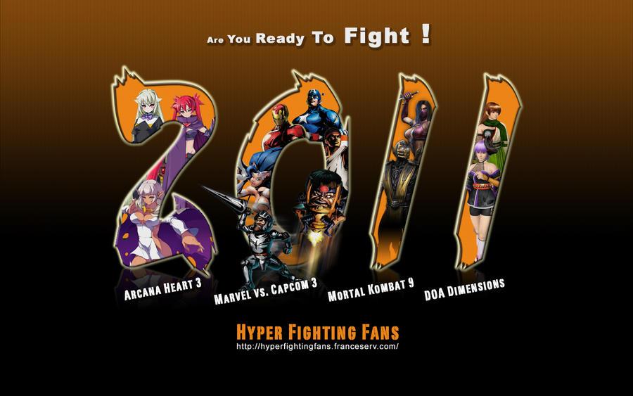 Hyper Fighting Fans 2011 by iFab