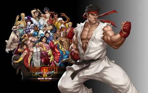 SFIII OE - Ryu - Wallpaper by iFab