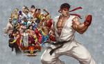 SFIII OE - Ryu - Wallpaper V2