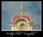 Mickey Clock - Disneyland