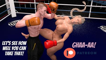 Emily vs Ace - Patreon Preview by Adrasko