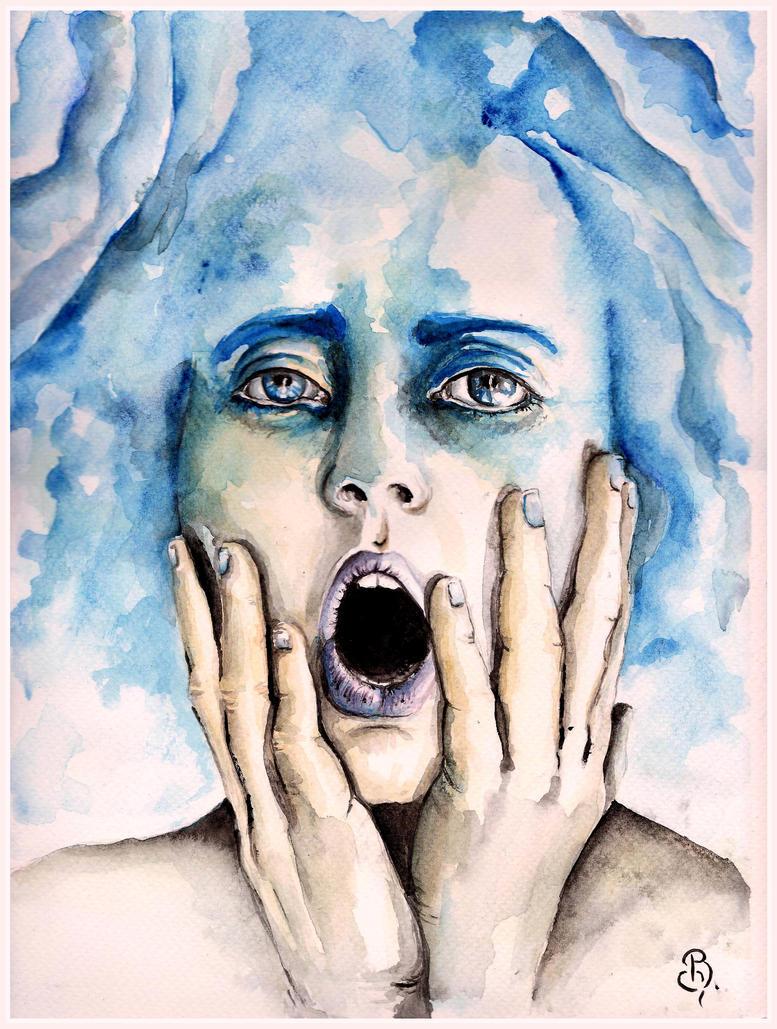 the breath of winter by BozenaFatygaArt