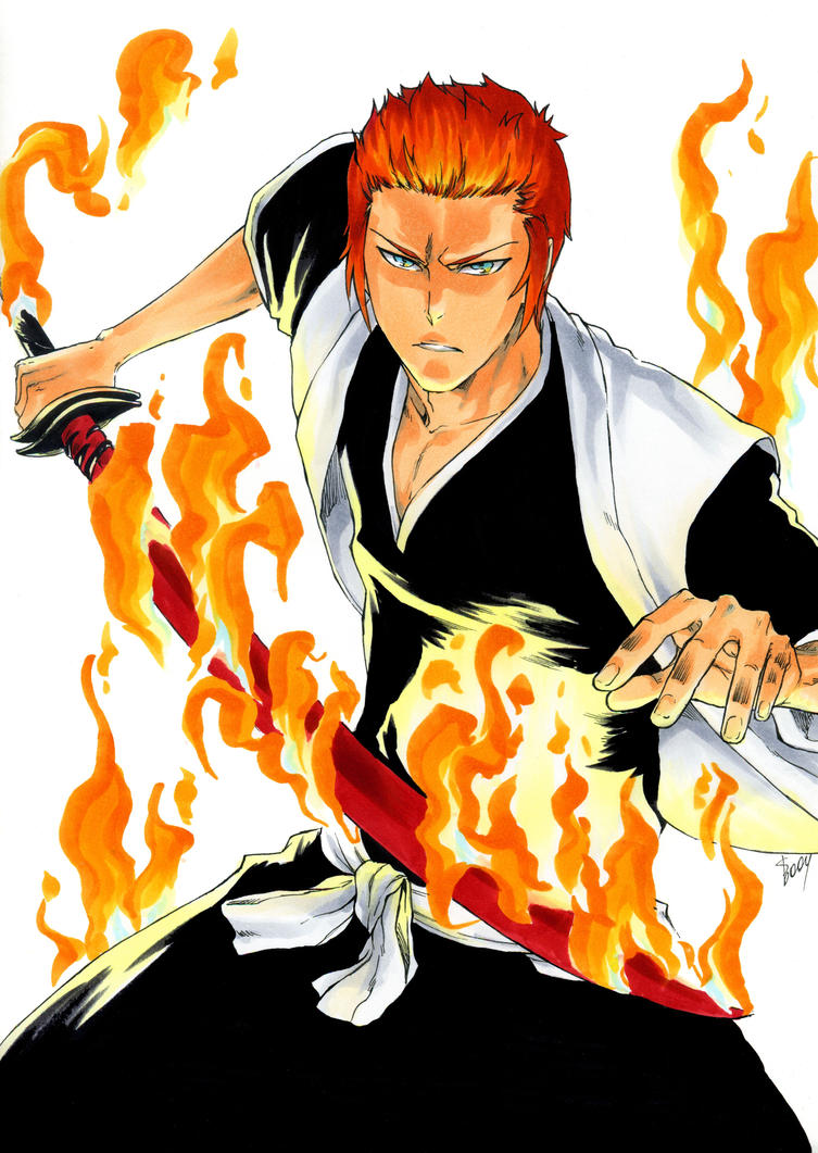 Bleach Oc: Blaze Kagayaku by BlazeKagayaku