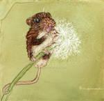 Maise Mouse Feeling Happy by Avalonshroud