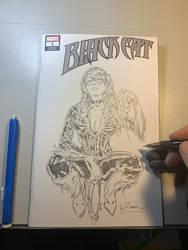 Black Cat sketch book