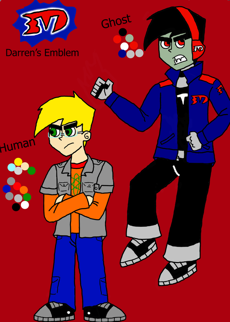 Darren's Color Scheme And Bio By TsundereViolet-Chan On