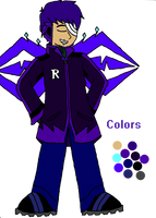 Astron: Ryouki's color scheme by TsundereViolet-Chan