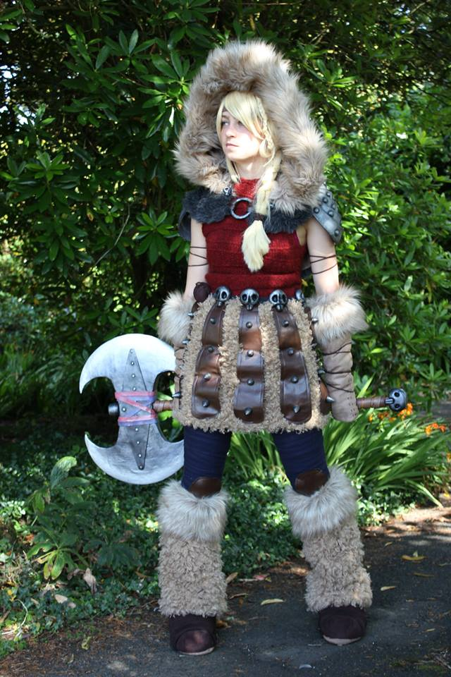 Astrid Hofferson Cosplay Pic 2 by GirlWithTheWolfHood