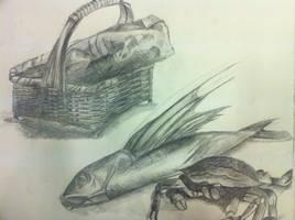 Still Life Drawing by Noiz-Bleu