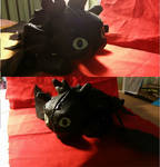 Toothless Plush- How to Train Your Dragon
