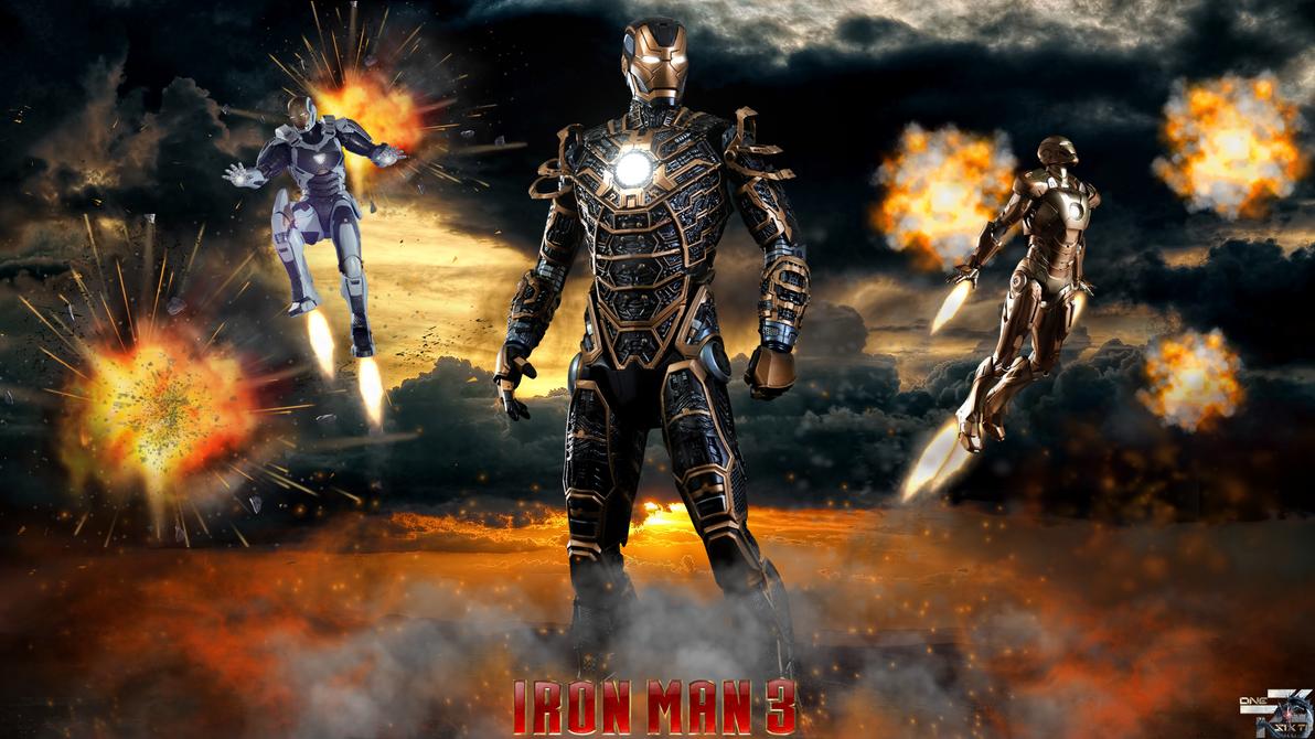 iron man 3 mark xli bones - hot toys hd wallpaperdavian-art on