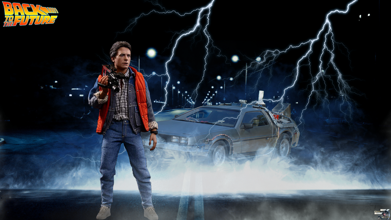 back to the future hottoys full hd wallpaper by