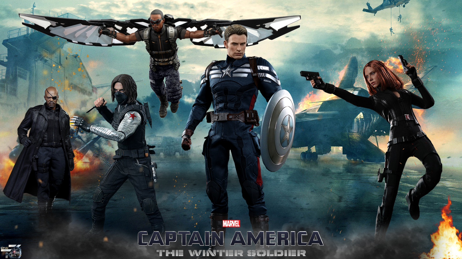 captain america the winter soldier - hot toysdavian-art on