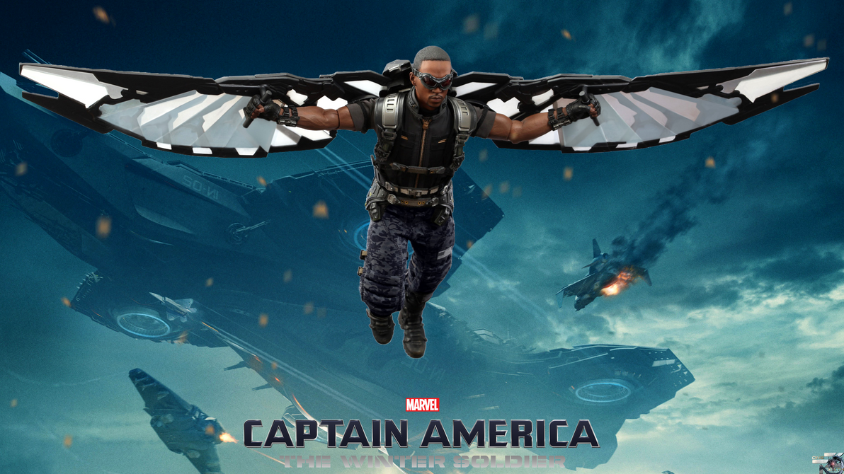 Captain America The Winter Soldier Falcon Hot Toys by ...