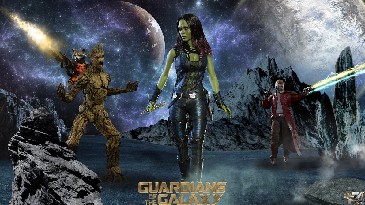 Guardians Of The Galaxy Hd Wallpaper: Guardians Of The Galaxy