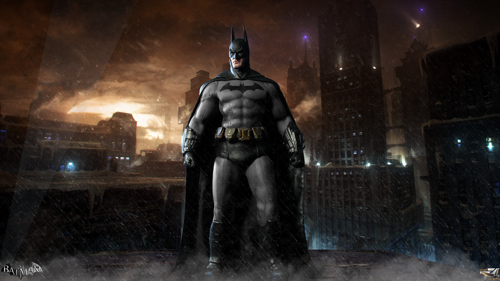 Batman Arkham City Hot Toys Full Hd Wallpaper By Davian Art