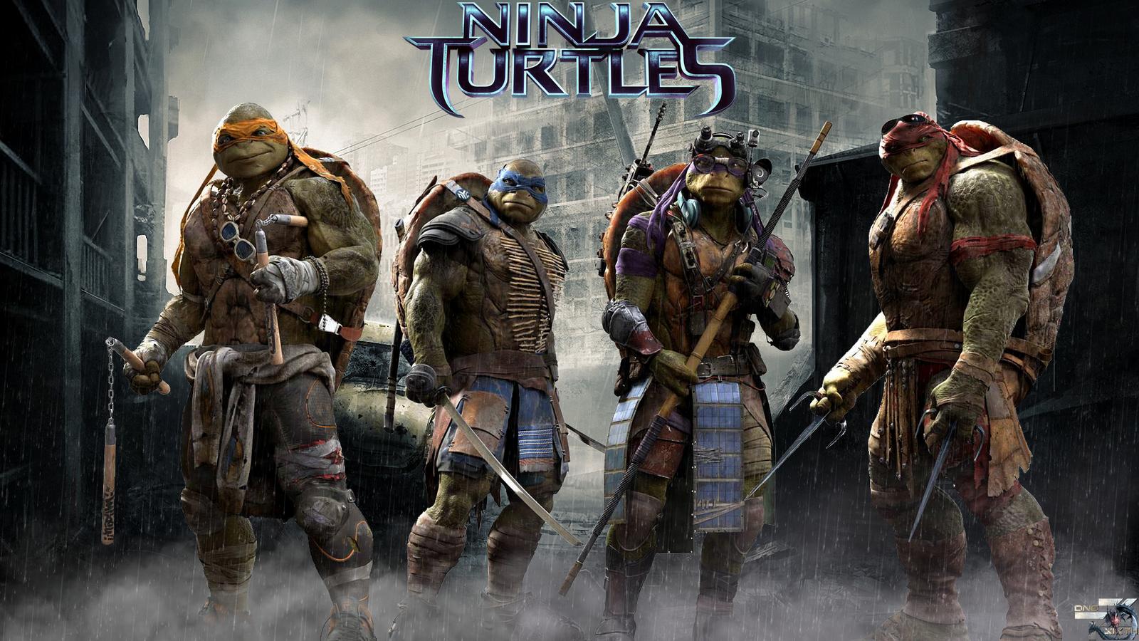 Teenage Mutant Ninja Turtles Fanart By Davidcdesigns On
