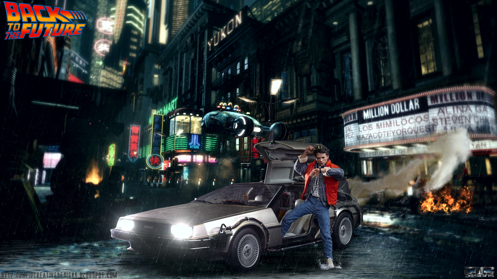 Hot Toys Back To The Future Hd Wallpaper By Davian Art On Deviantart