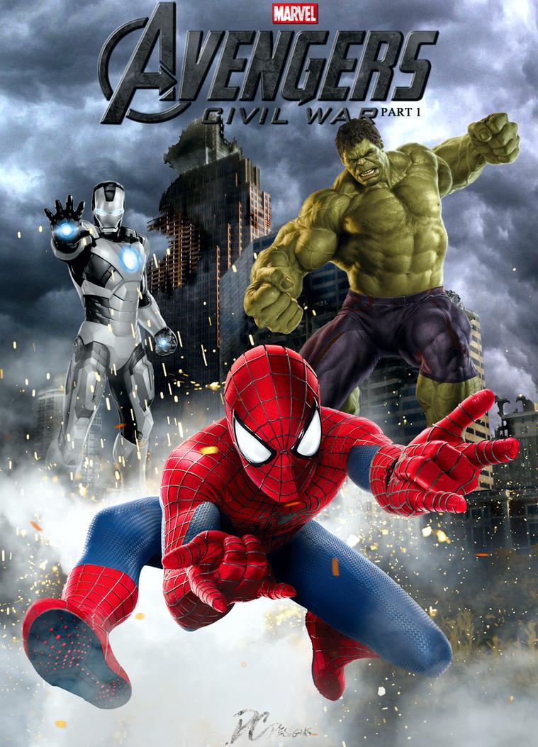 Avengers civil war by davidcdesigns on deviantart - Avengers civil war wallpaper ...
