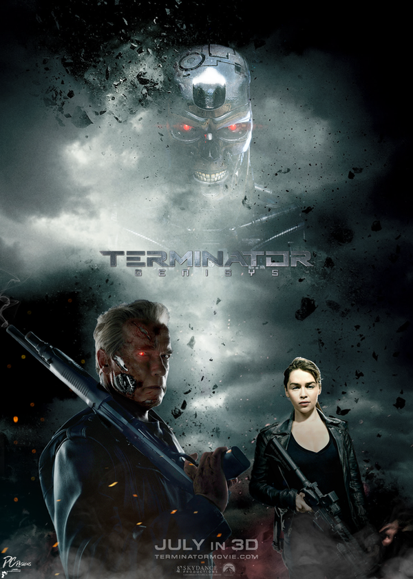 Terminator Genisys Official Movie Poster