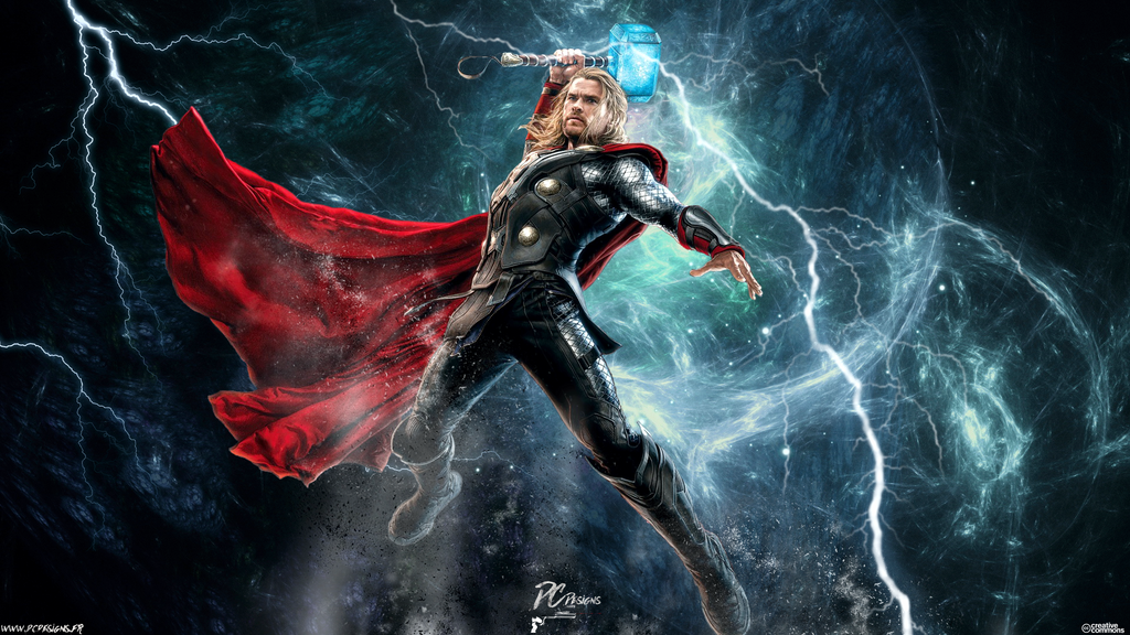 Avengers Age Of Ultron By Iloegbunam On Deviantart: Thor Avengers Age Of Ultron By DavidCDesigns On DeviantArt