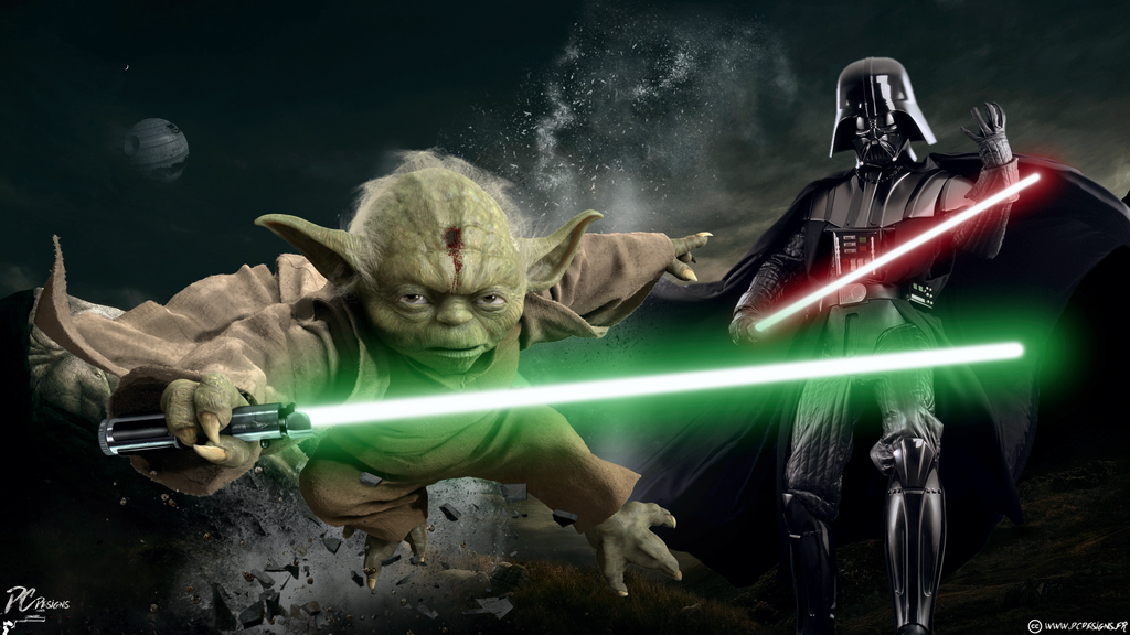 master yoda vs darth - photo #15