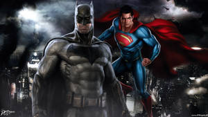 Batman V Superman Dawn Of Justice by Davian-Art