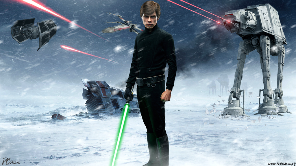 Luke Skywalker Star Wars Battlefront Minecraft Skin