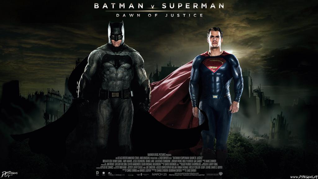 Batman V Superman Dawn Of Justice By Davian Art