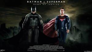 Batman V Superman Dawn Of Justice by Davian-Art