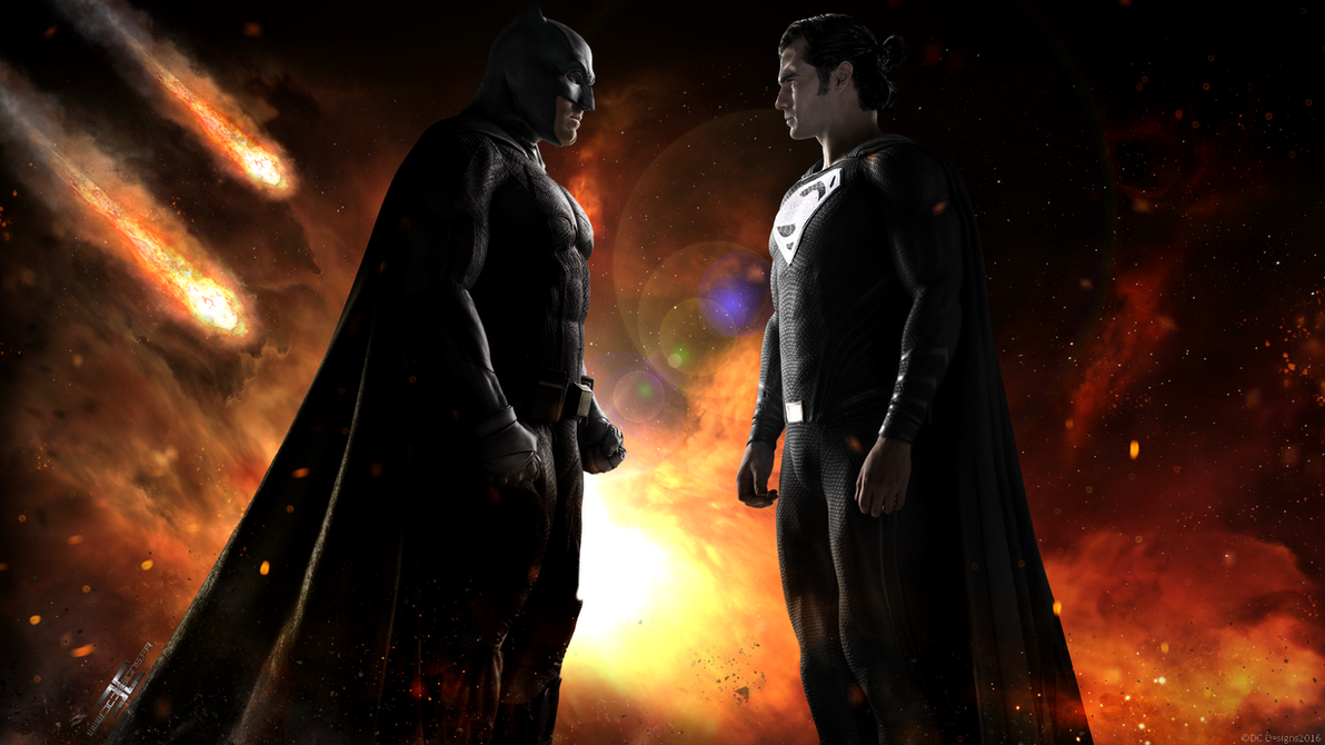 JUSTICE LEAGUE SUPERMAN RISES by D-CDesigns