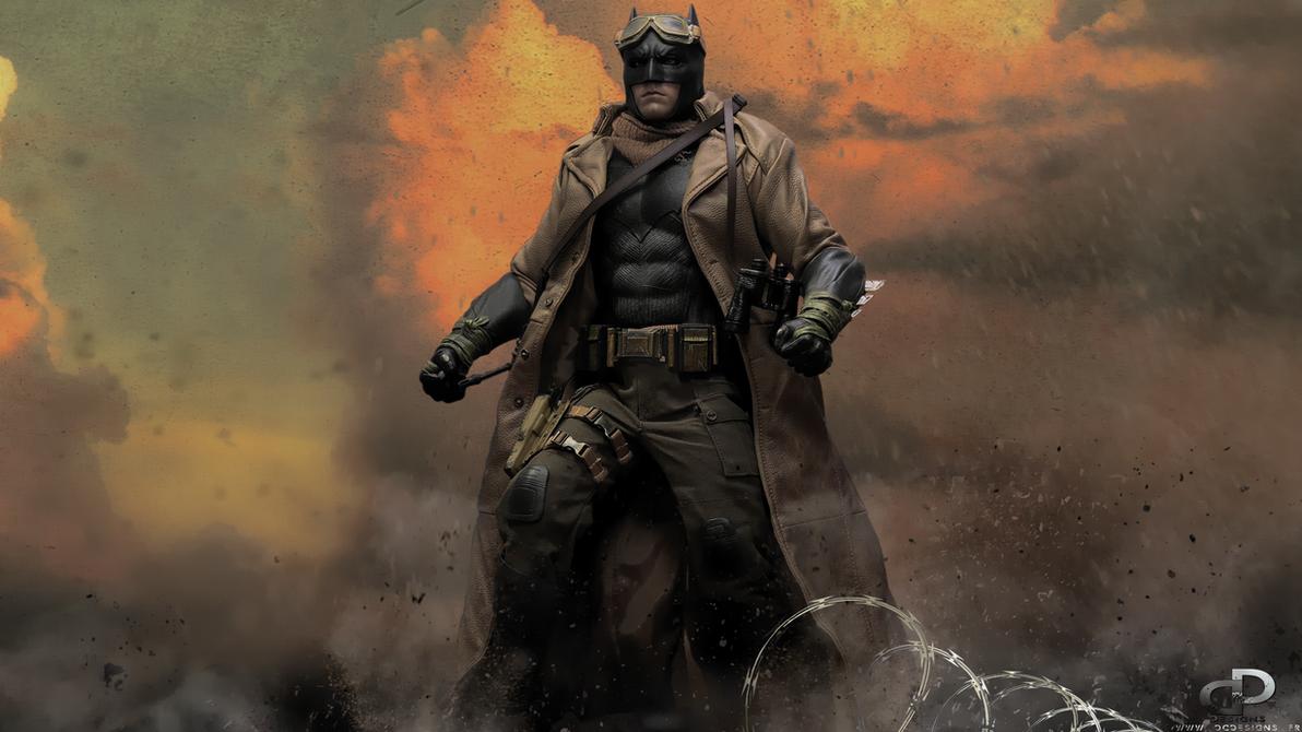 NIGHTMARE BATMAN by D-CDesigns