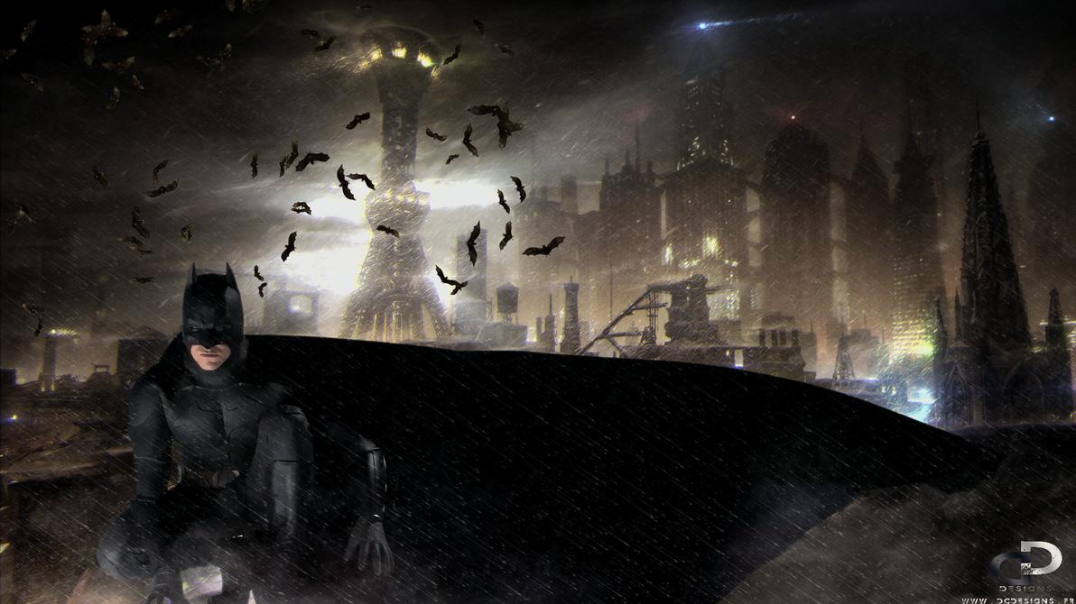 BATMAN BEGINS by D-CDesigns