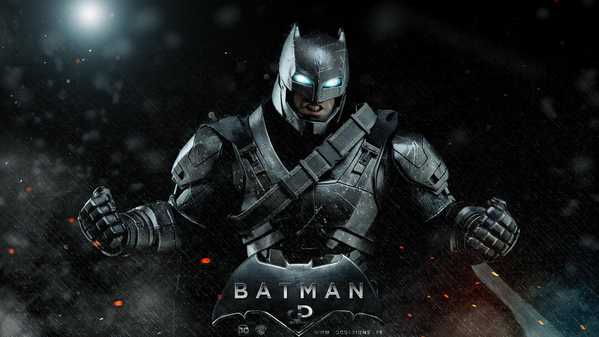 ARMORED BATMAN by Davian-Art