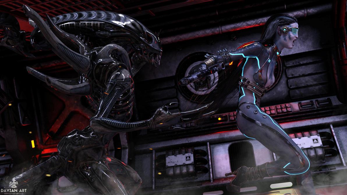 Aliens by Davian-Art