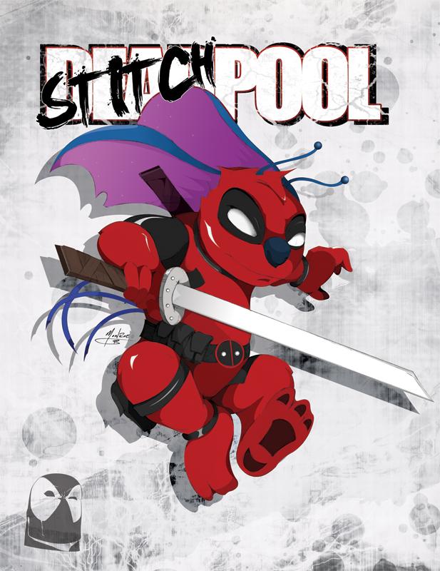 Stitch-Pool Render by CrimsonDenizen