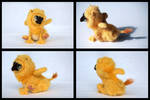 Yellow Gryphlet Collage