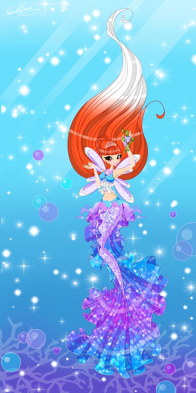Nicole mermaid princess by Nicole-Ennet