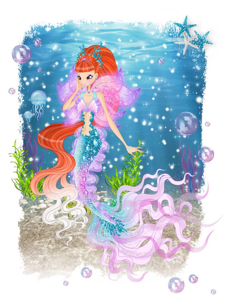 World of Winx - Mermaid Nicole by Nicole-Ennet