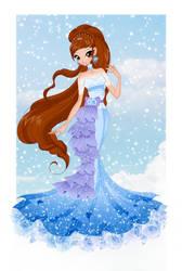 Art trade: Nina Princess by Nicole-Ennet