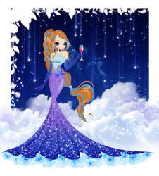 Art trade: Misty Princess by Nicole-Ennet