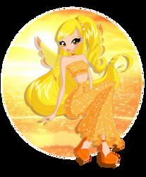 Sunlight fairy by Nicole-Ennet