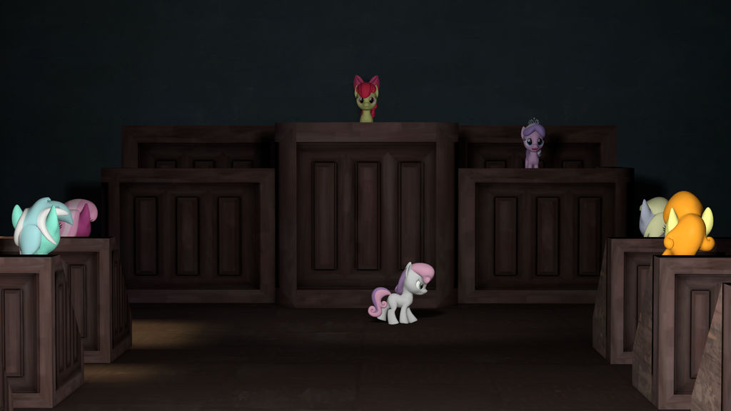 Pony Court by yellencandy